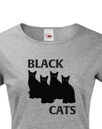 Dámské tričko Black Cats
