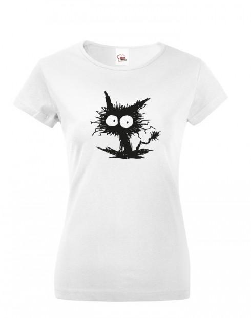 Dámské tričko kočko příšera