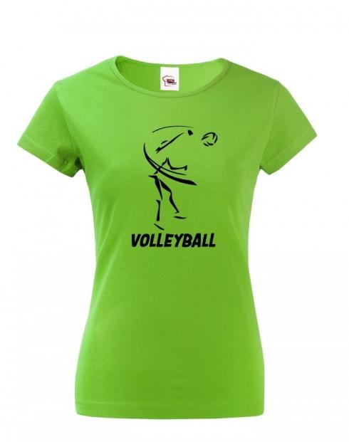 Dámské tričko Volejbal
