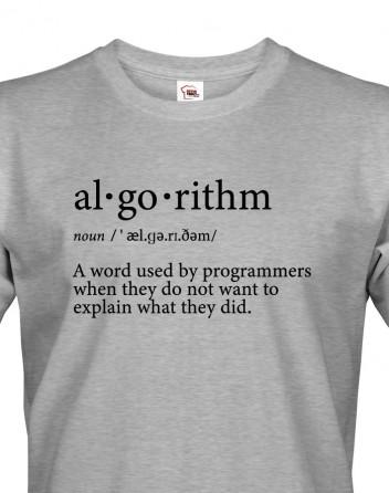 Pánské tričko Algorithm