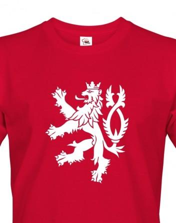 Pánské tričko Český lev