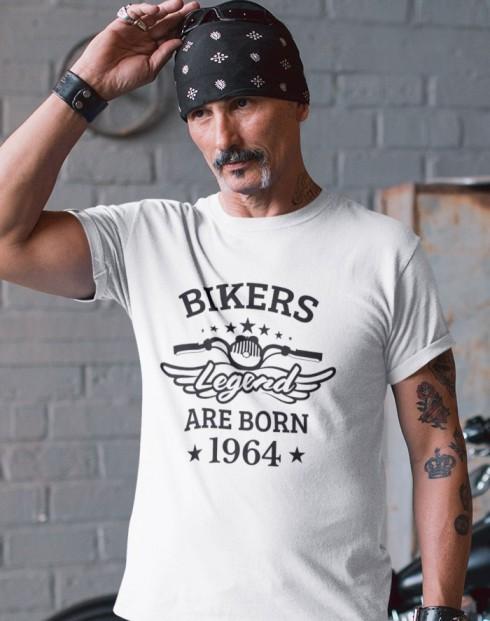 Pánské triko Bikers Legend Are Born