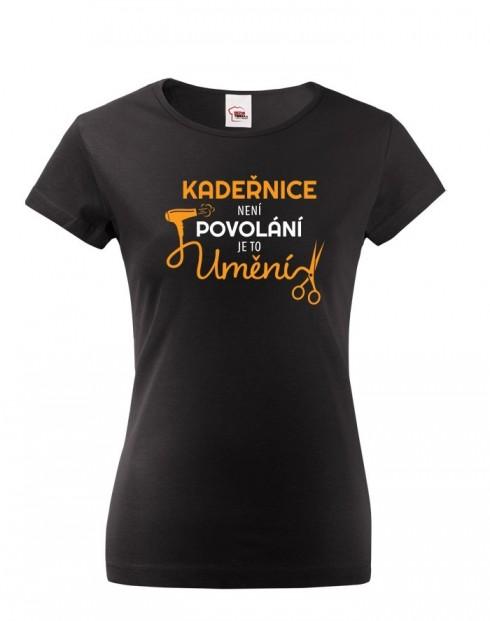 Dámské tričko Kadeřnice