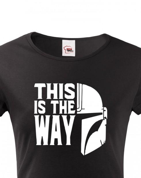 Dámské tričko Mandalorian
