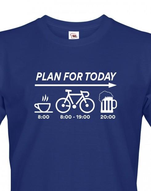 Pánské tričko Plans for Today
