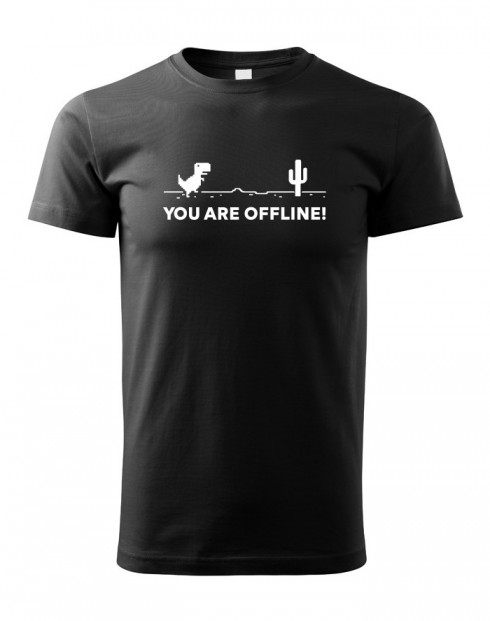 Dětské tričko You are Offline