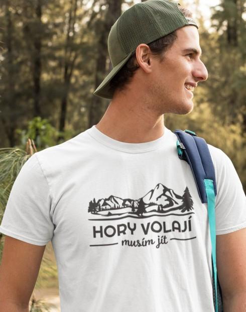 Pánské triko Hory volají musím jít