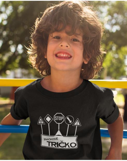 Dětské tričko - Značkové tričko