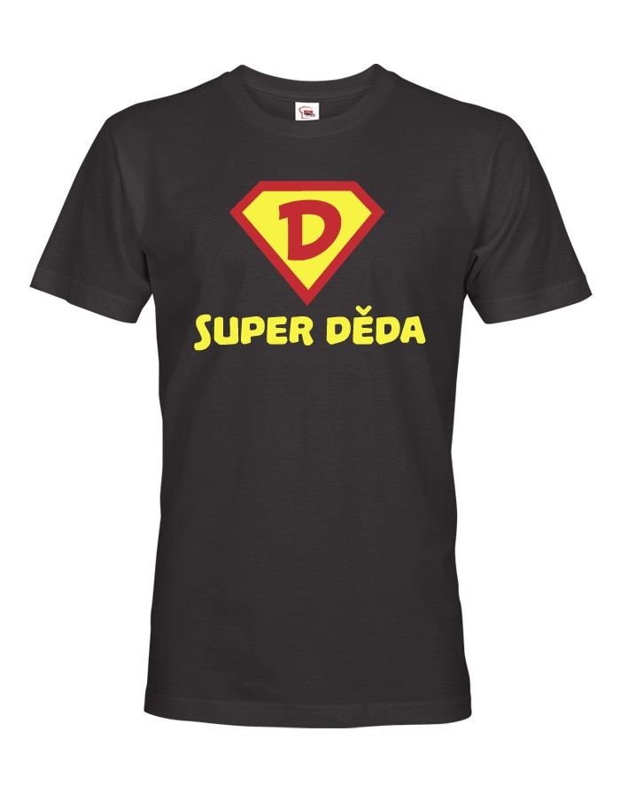 Tričko s potiskem SUPER DĚDA
