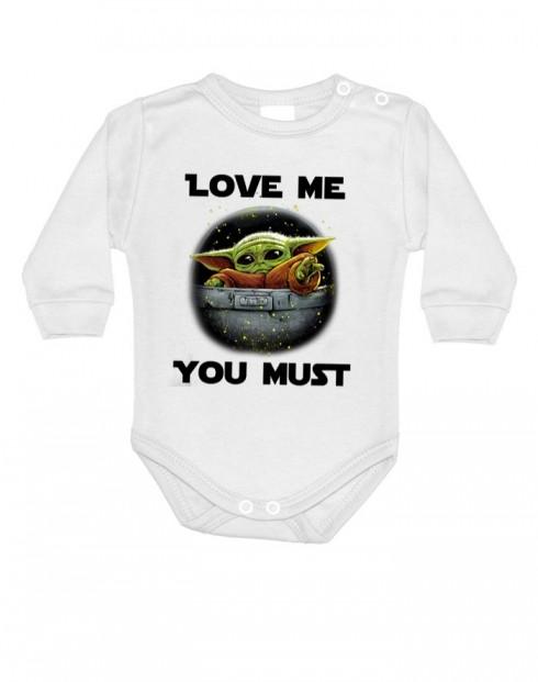 Dětské body Baby Yoda