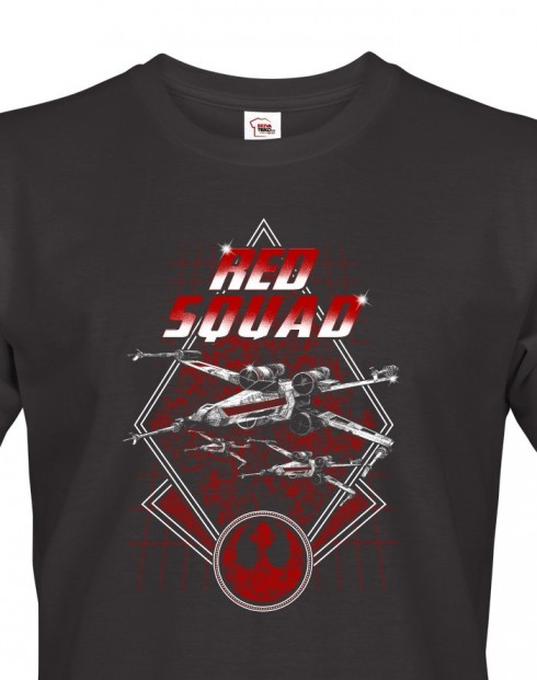 Pánské tričko Star Wars X-Wing Red Squadron