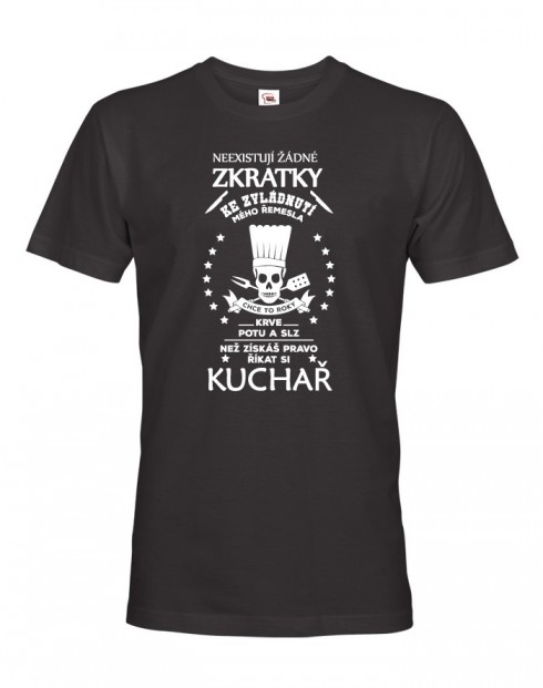 Pánské tričko pro kuchaře
