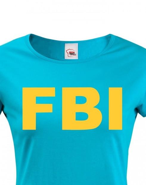 Dámské tričko - FBI