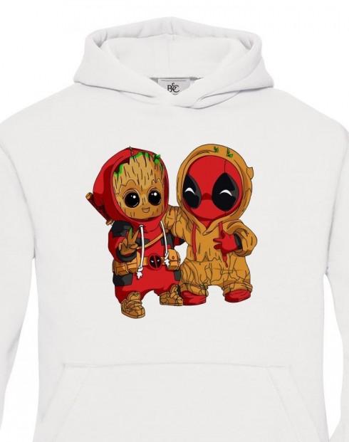Dětská mikina Deadpool a Groot