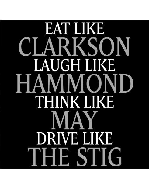 Pánské Tričko Clarkson, Hammond, May