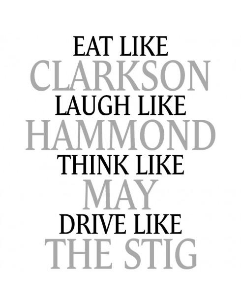Dámské tričko Clarkson, Hammond, May