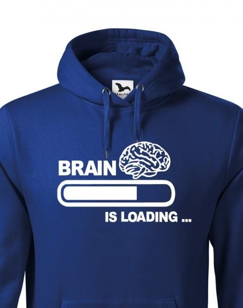 Pánská mikina - Brain is loading