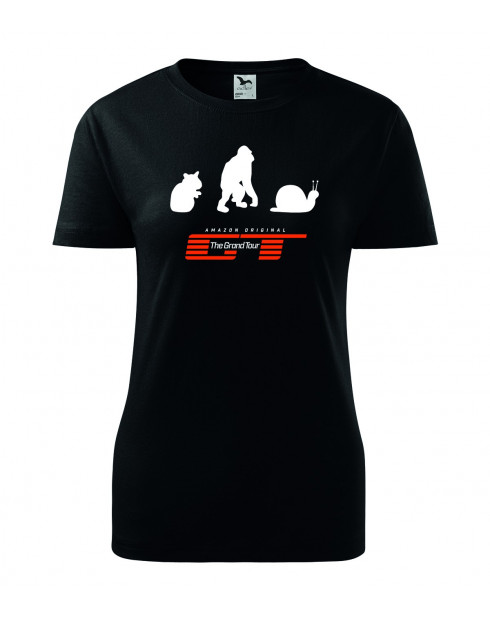 Dámské Tričko Hamster, Orangutan, Captain slow