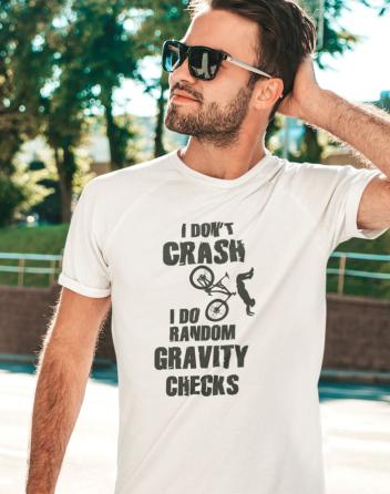 Pánské MTB tričko RANDOM GRAVITY CHECKS
