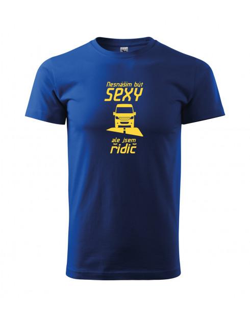 Pánské tričko Sexy řidič dodávky