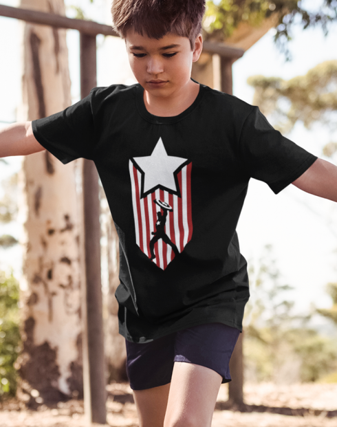 Dětské tričko Kapitán Amerika