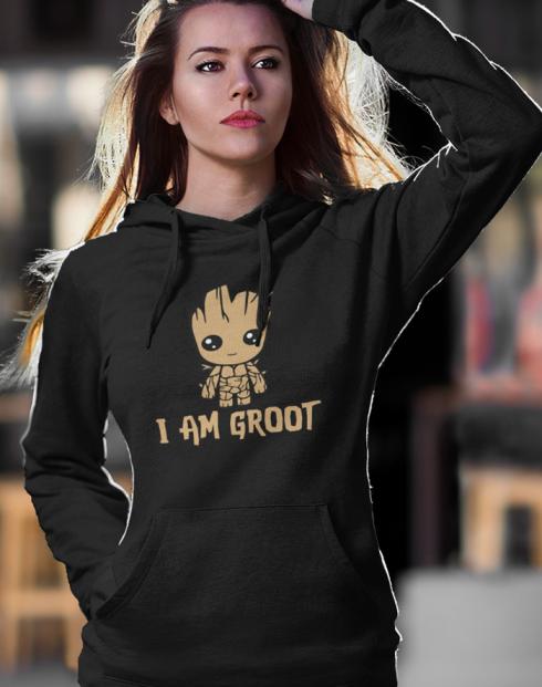 Dámská mikina Groot z filmu Strážci galaxie 2