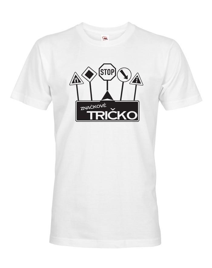 Pánské tričko - Značkové tričko