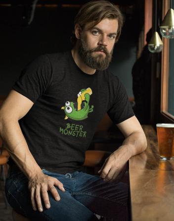Pánské tričko - Beer monster