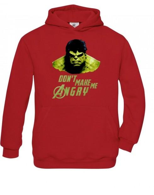 Dětská mikina Hulk 2 z týmu Avengers