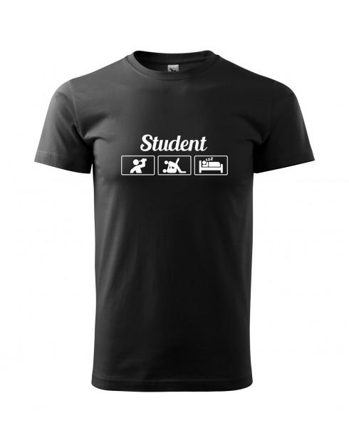Vtipné tričko pro studenty