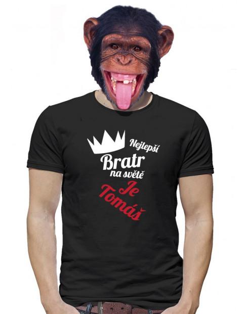 Tričko pro nejlepšího bratra na světě